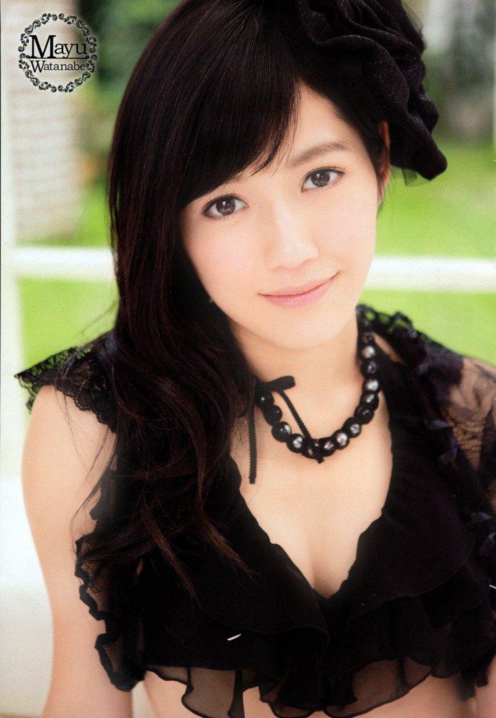 【渡辺麻友お宝画像】突然芸能界引退を発表した元AKBアイドルのグラビア写真 09