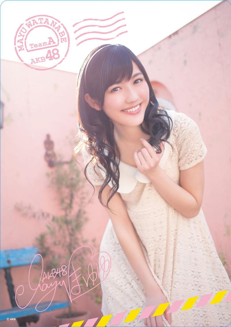 【渡辺麻友お宝画像】突然芸能界引退を発表した元AKBアイドルのグラビア写真 21