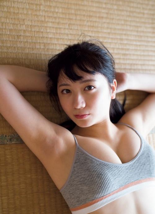 【高橋希来エロ画像】バイトからAKBに入ったFカップ娘がエッチな写真でグラドル転身! 15