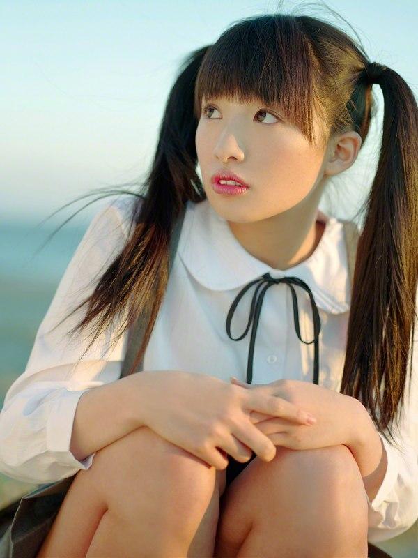 【椎名ひかりグラビア画像】これほどツインテールが似合う童顔美少女が他におる? 19