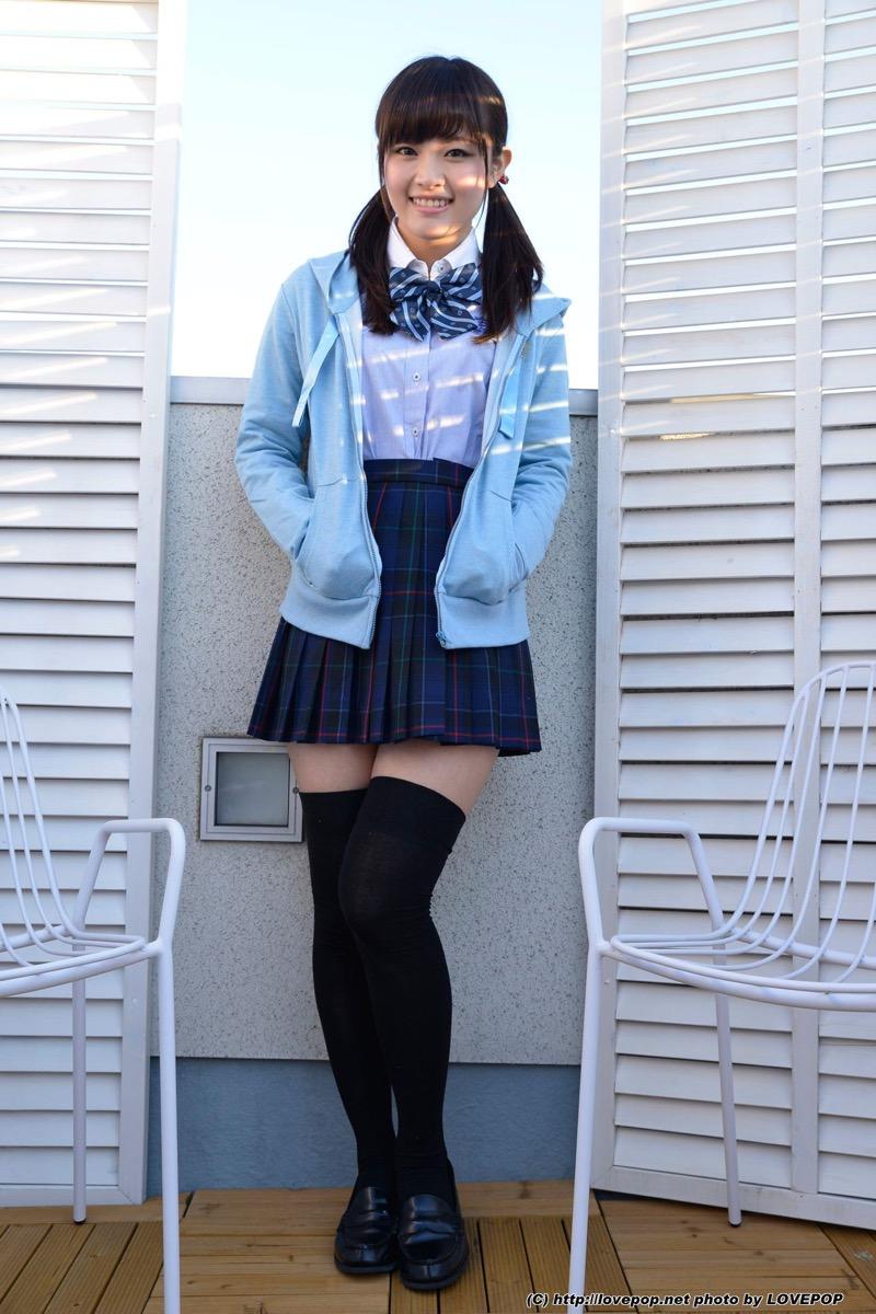 【いいニーハイの日】グラドル美女がニーハイを穿いて撮った自撮りやグラビア画像 34