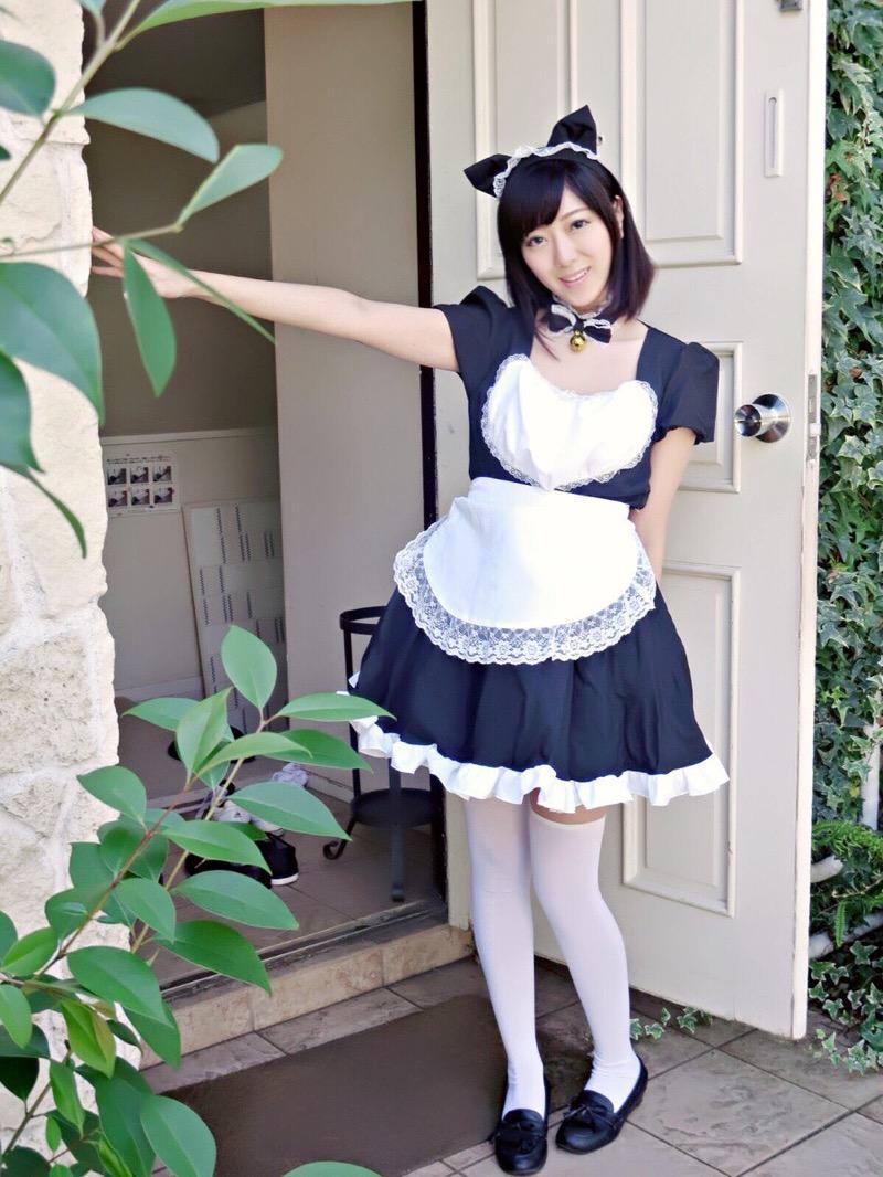 【いいニーハイの日】グラドル美女がニーハイを穿いて撮った自撮りやグラビア画像 46