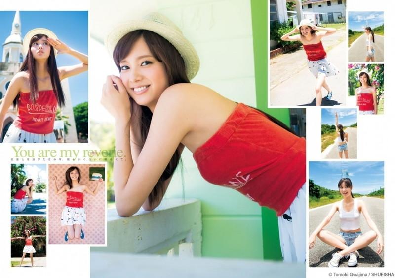 【新川優愛グラビア画像】笑顔が素敵な元グラビアアイドルの女優が魅せるビキニ姿 79