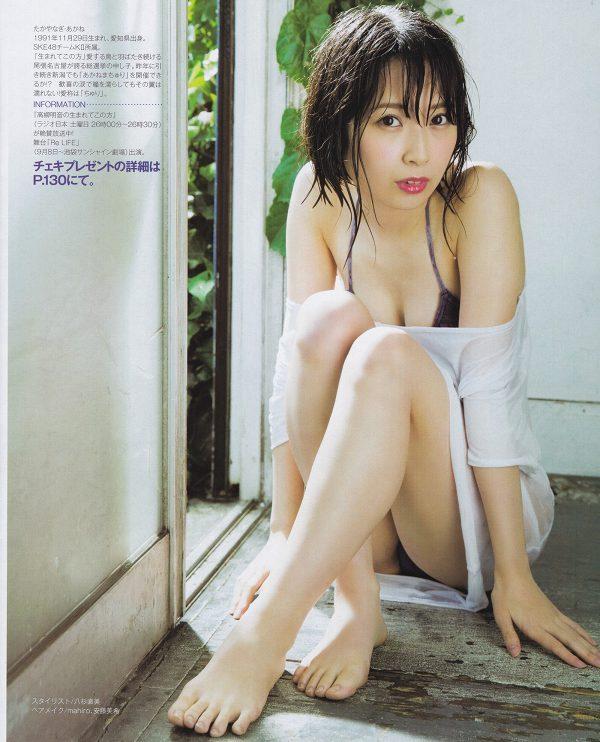 【高柳明音グラビア画像】コロナで卒業が延期になっちゃったSKE48アイドルの水着姿 07