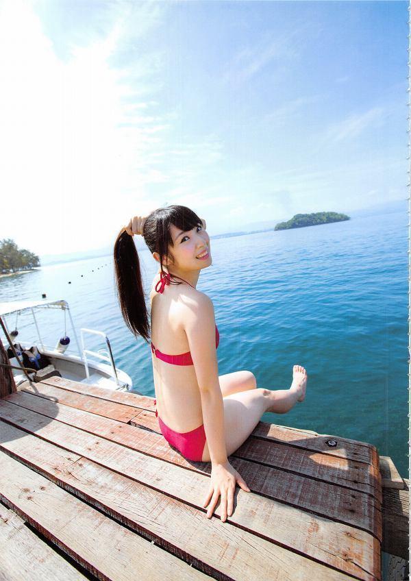 【高柳明音グラビア画像】コロナで卒業が延期になっちゃったSKE48アイドルの水着姿 25