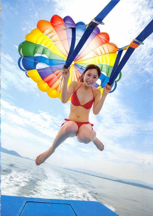 【高柳明音グラビア画像】コロナで卒業が延期になっちゃったSKE48アイドルの水着姿 30