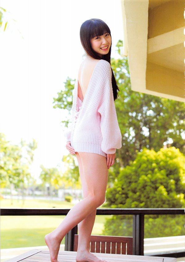 【高柳明音グラビア画像】コロナで卒業が延期になっちゃったSKE48アイドルの水着姿 33