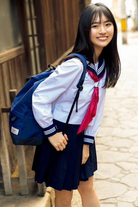 【豊田ルナエロ画像】ミスマガジン2019でグランプリを獲ったEカップ巨乳美少女! 16