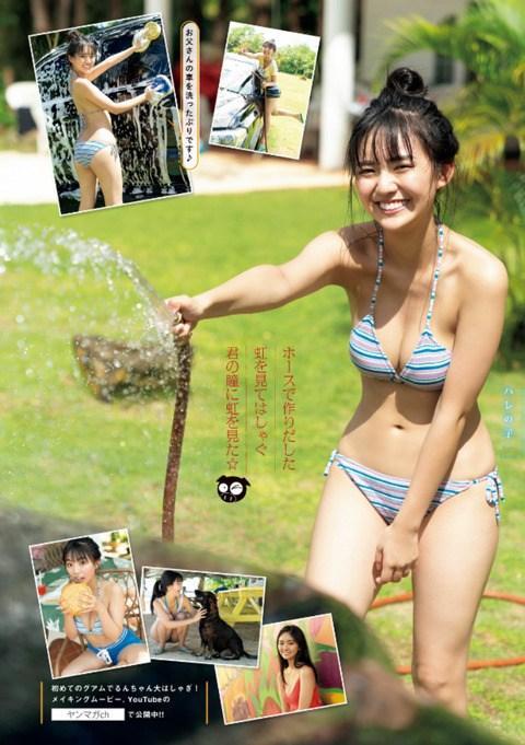 【豊田ルナエロ画像】ミスマガジン2019でグランプリを獲ったEカップ巨乳美少女! 20
