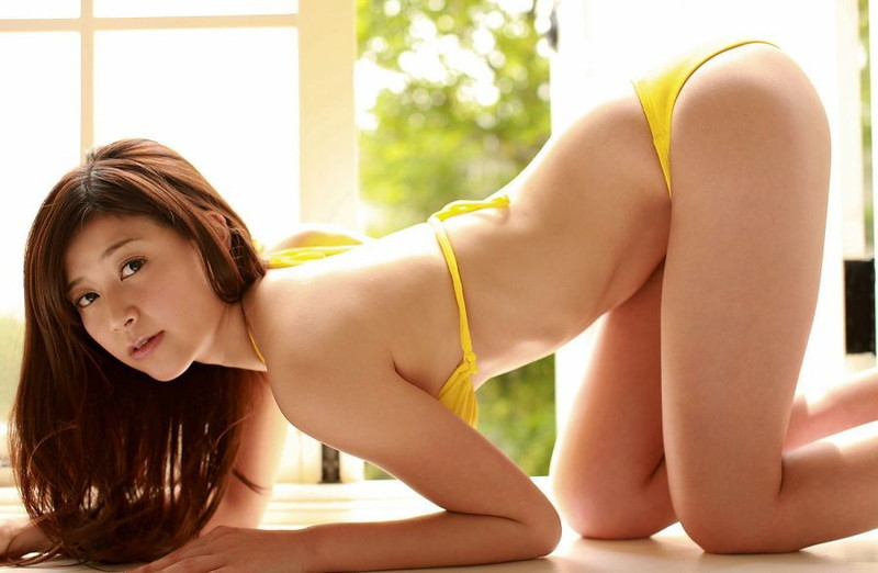 【高橋亜由美グラビア画像】Fカップ巨乳とキレイなお尻がエロいグラドル美女 21