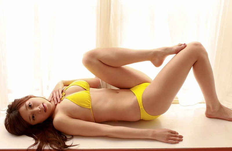【高橋亜由美グラビア画像】Fカップ巨乳とキレイなお尻がエロいグラドル美女 22