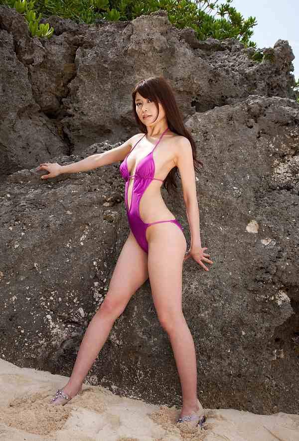 【高橋亜由美グラビア画像】Fカップ巨乳とキレイなお尻がエロいグラドル美女 56