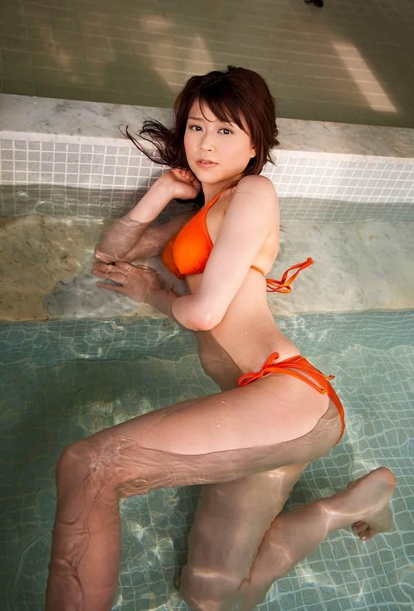 【高橋亜由美グラビア画像】Fカップ巨乳とキレイなお尻がエロいグラドル美女 59