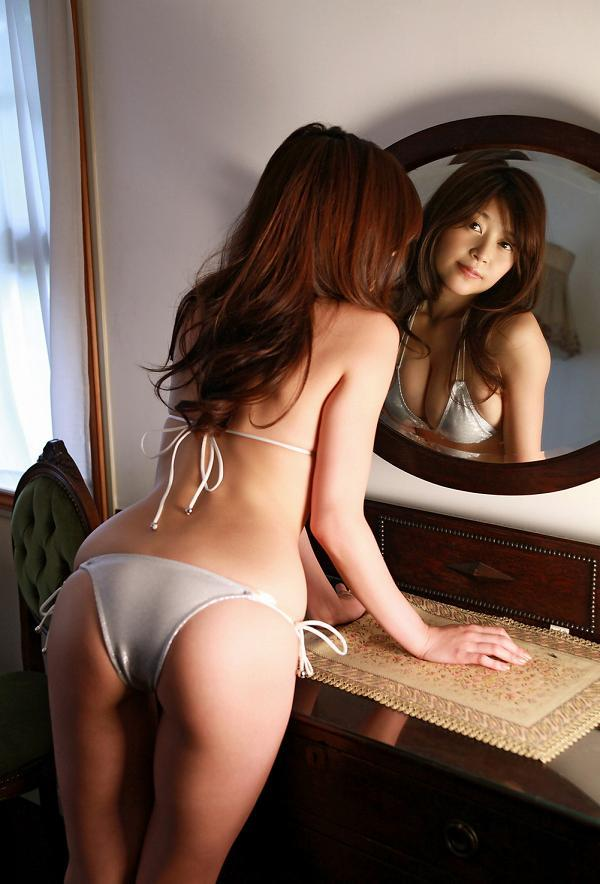 【高橋亜由美グラビア画像】Fカップ巨乳とキレイなお尻がエロいグラドル美女 74