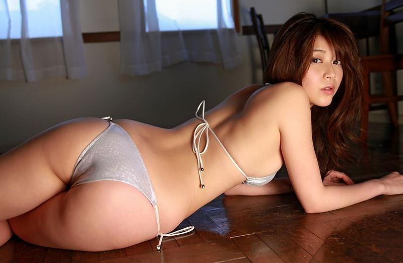 【高橋亜由美グラビア画像】Fカップ巨乳とキレイなお尻がエロいグラドル美女 76