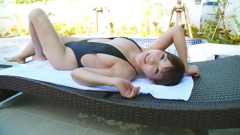 【藤田恵名エロ画像】イメージビデオでマンスジを見せちゃったシンガーグラドルw