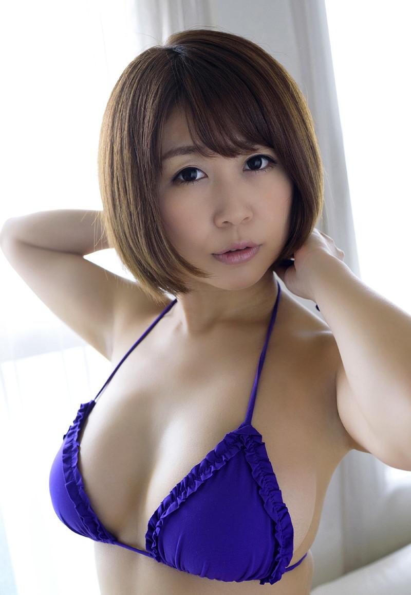 【美森ゆみなグラビア画像】爆乳巨尻のめちゃシコボディがまた見たい!! 53