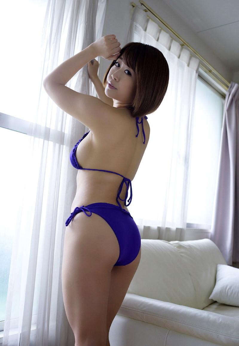 【美森ゆみなグラビア画像】爆乳巨尻のめちゃシコボディがまた見たい!! 55