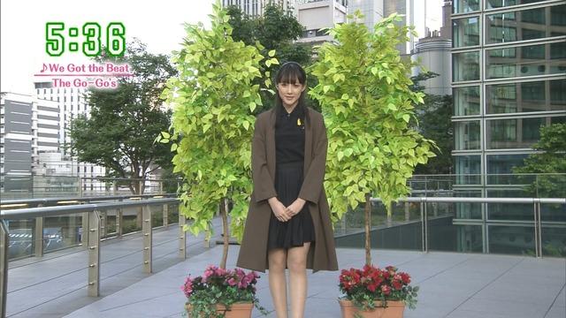 【お宝エロ画像】番組公認でたっぷり見られるお天気お姉さんのモデル美脚wwww 17