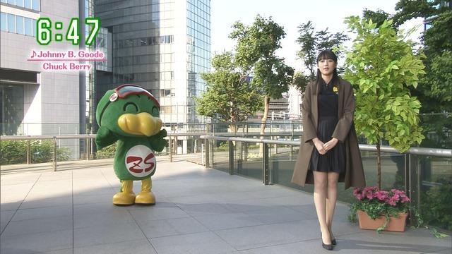 【お宝エロ画像】番組公認でたっぷり見られるお天気お姉さんのモデル美脚wwww 19