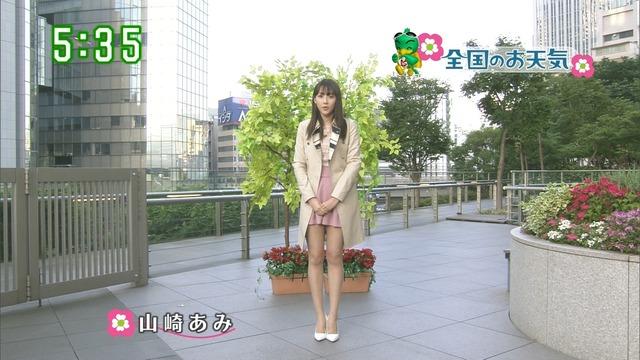 【お宝エロ画像】番組公認でたっぷり見られるお天気お姉さんのモデル美脚wwww 23