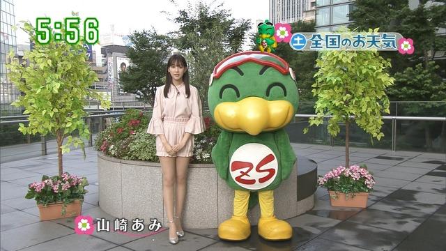 【お宝エロ画像】番組公認でたっぷり見られるお天気お姉さんのモデル美脚wwww 35