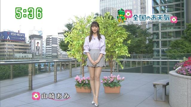 【お宝エロ画像】番組公認でたっぷり見られるお天気お姉さんのモデル美脚wwww 39