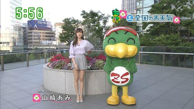 【お宝エロ画像】番組公認でたっぷり見られるお天気お姉さんのモデル美脚wwww 43