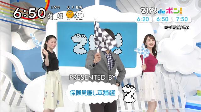 【團遥香お宝画像】ガチお嬢様の着衣オッパイや美脚をたっぷり見られたテレビ番組wwww 34