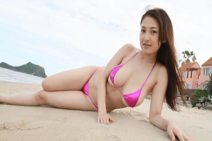 【中川朋美エロ画像】Jカップとかいうメートル超え爆乳女のマンスジ写真wwww 15