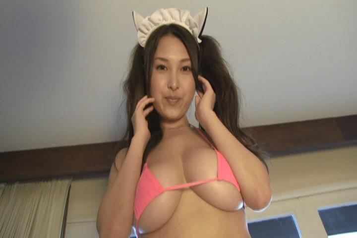 【中川朋美エロ画像】Jカップとかいうメートル超え爆乳女のマンスジ写真wwww 21