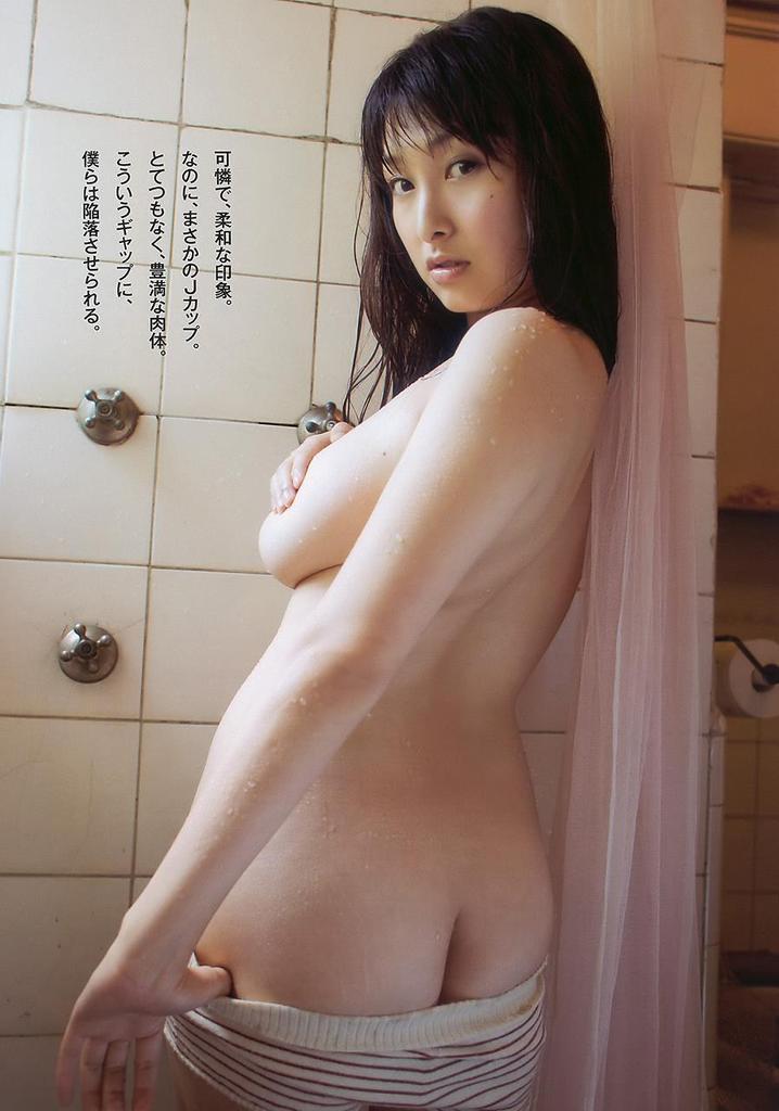 【中川朋美エロ画像】Jカップとかいうメートル超え爆乳女のマンスジ写真wwww 76