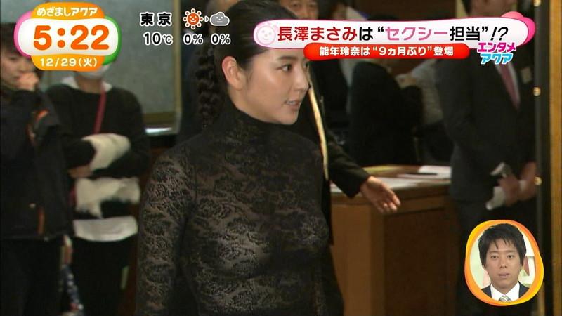 【長澤まさみお宝画像】テレビでエロくてシコれるオッパイの形を見せちゃったw 06