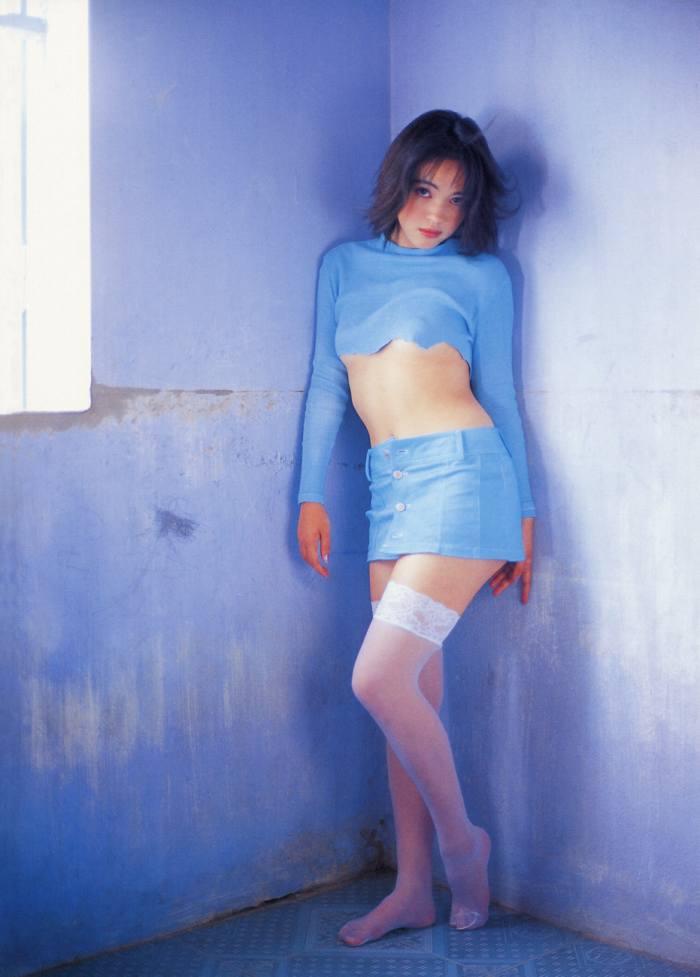 【永井流奈グラビア画像】あのミニスカポリスに現役JKで任命された美少女 41