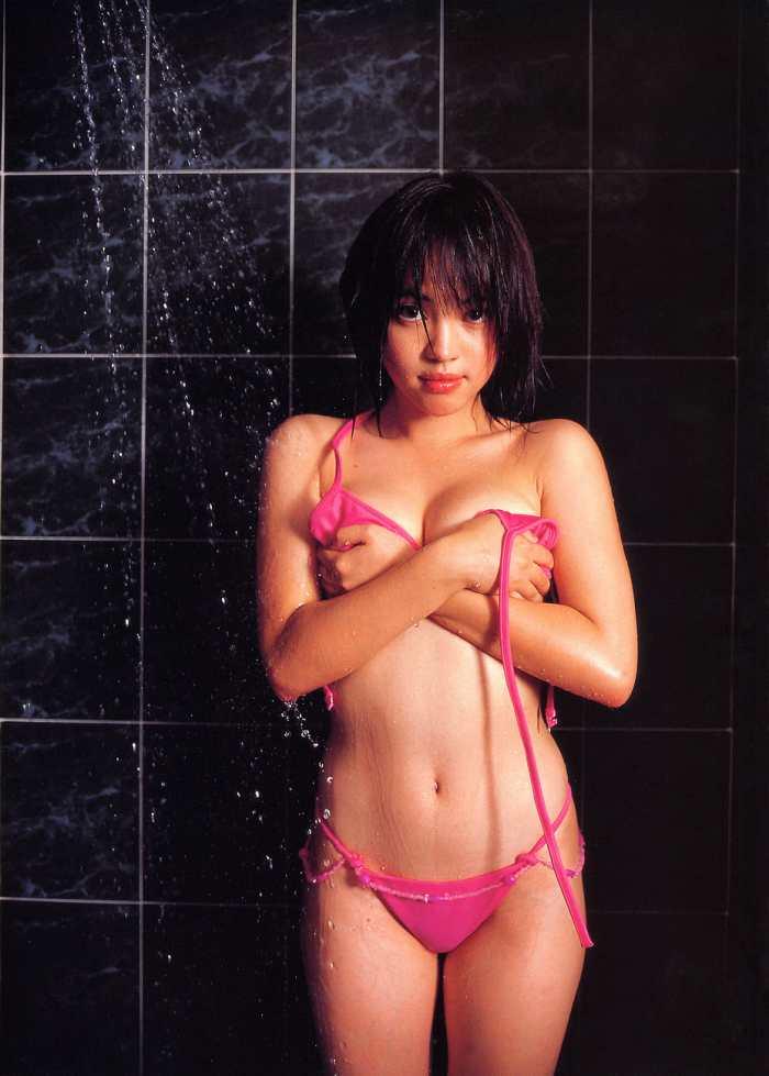 【永井流奈グラビア画像】あのミニスカポリスに現役JKで任命された美少女 43