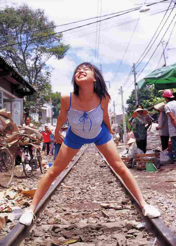 【永井流奈グラビア画像】あのミニスカポリスに現役JKで任命された美少女 48