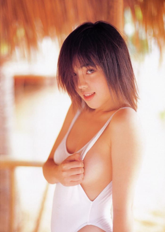 【永井流奈グラビア画像】あのミニスカポリスに現役JKで任命された美少女 52