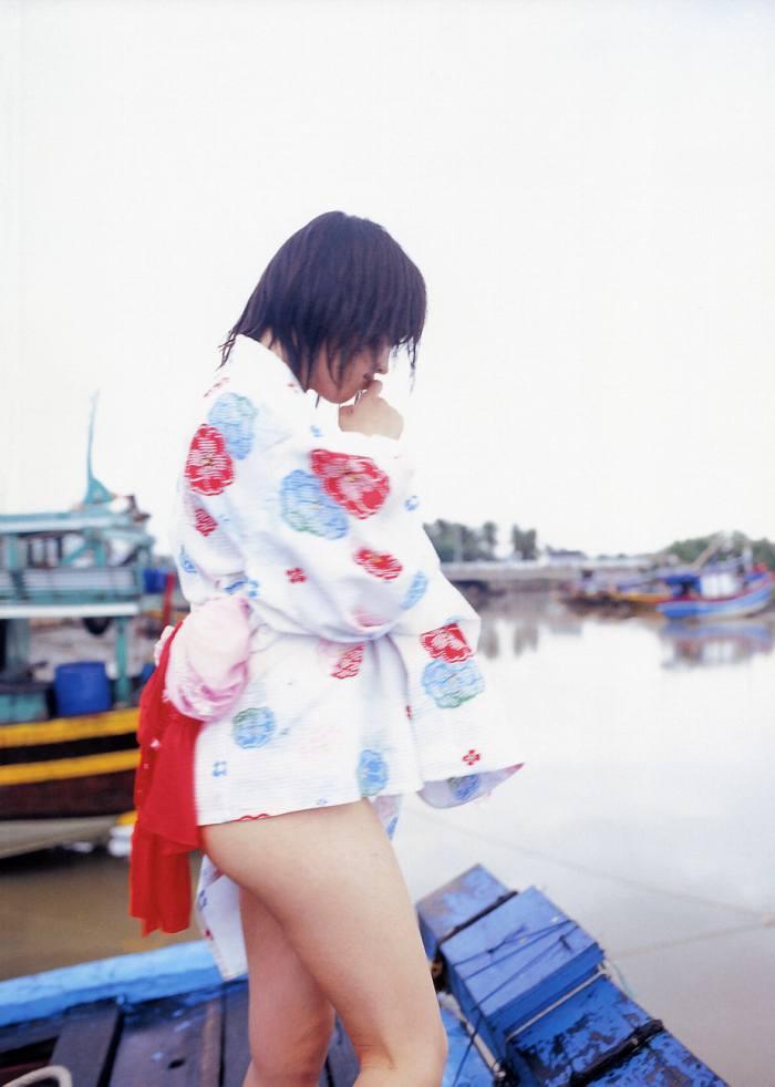 【永井流奈グラビア画像】あのミニスカポリスに現役JKで任命された美少女 53