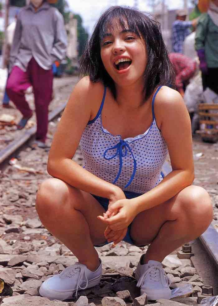 【永井流奈グラビア画像】あのミニスカポリスに現役JKで任命された美少女 54