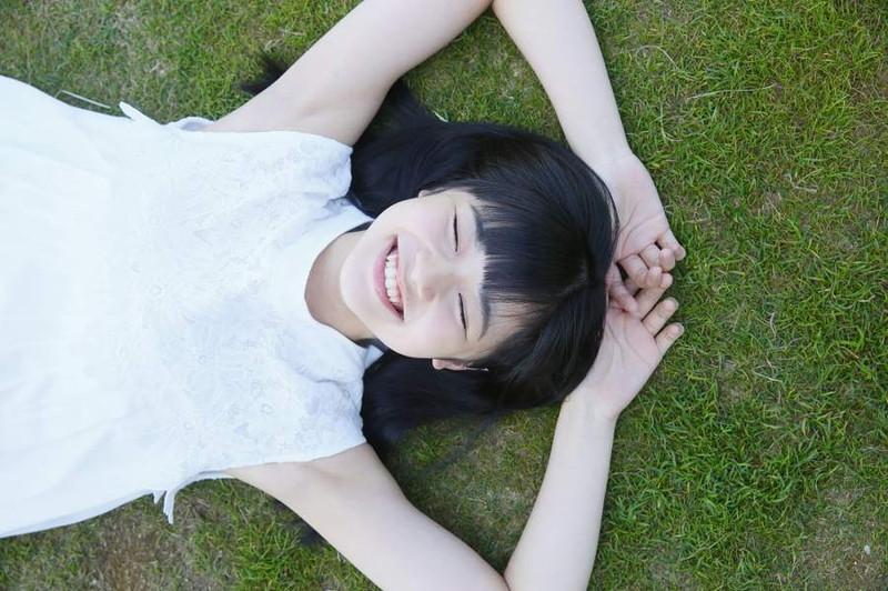 【浜浦彩乃グラビア画像】黒髪ストレートで清純系美少女って感じがメチャカワ! 18