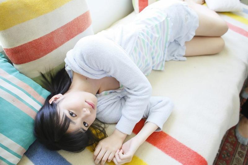 【浜浦彩乃グラビア画像】黒髪ストレートで清純系美少女って感じがメチャカワ! 27