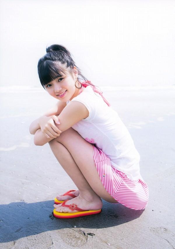 【浜浦彩乃グラビア画像】黒髪ストレートで清純系美少女って感じがメチャカワ! 34