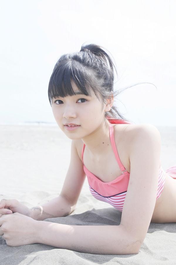 【浜浦彩乃グラビア画像】黒髪ストレートで清純系美少女って感じがメチャカワ! 41