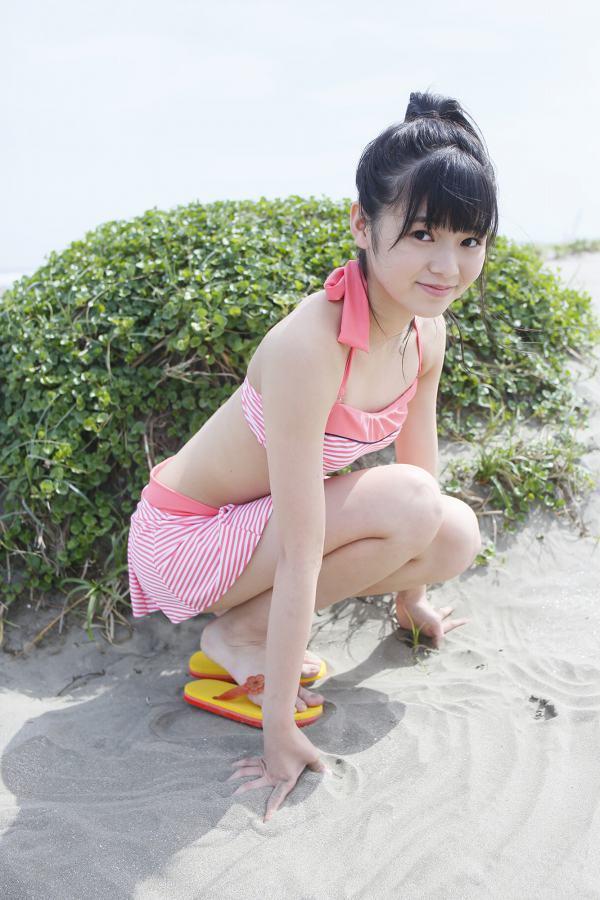【浜浦彩乃グラビア画像】黒髪ストレートで清純系美少女って感じがメチャカワ! 43