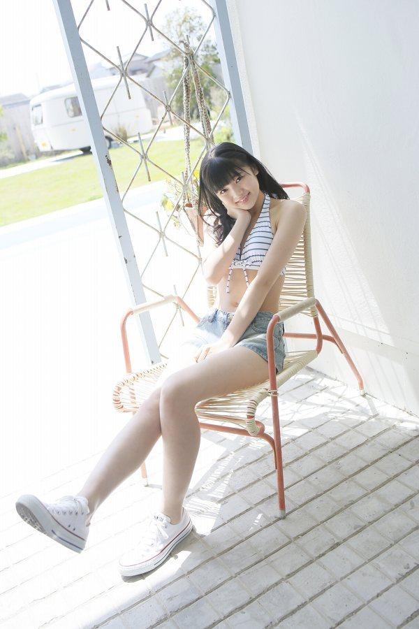【浜浦彩乃グラビア画像】黒髪ストレートで清純系美少女って感じがメチャカワ! 74