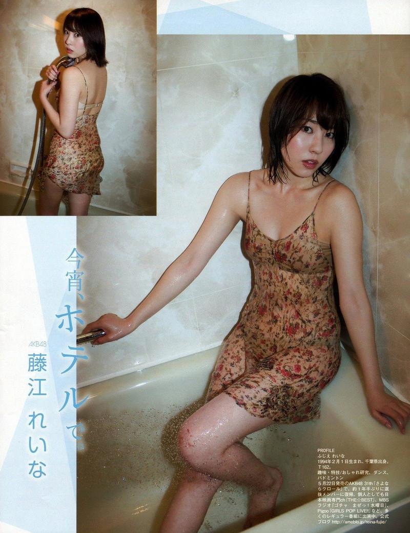 【藤江れいなグラビア画像】元AKB48の3期生アイドルが現役時代に披露した水着姿 64
