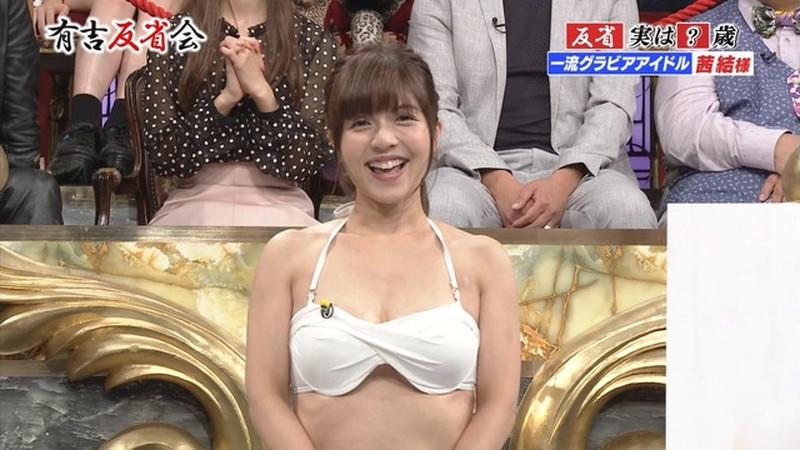 【お宝エロ画像】有吉反省会に集まってきたオッパイ自慢のグラビアアイドル 43
