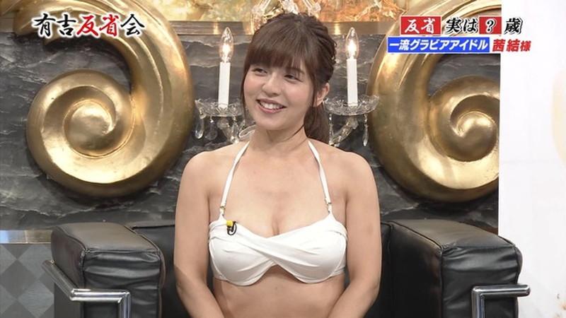 【お宝エロ画像】有吉反省会に集まってきたオッパイ自慢のグラビアアイドル 49