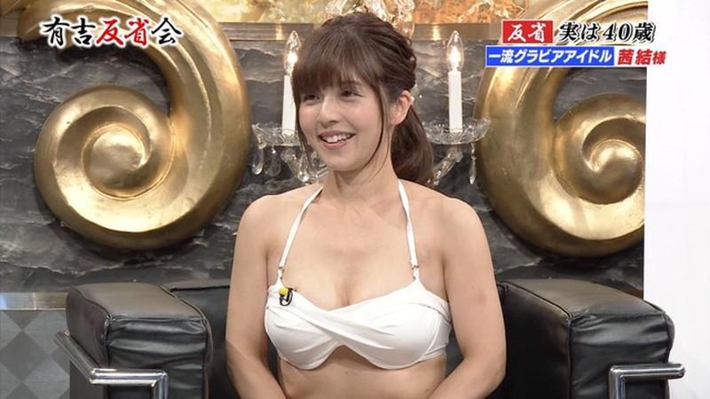 【お宝エロ画像】有吉反省会に集まってきたオッパイ自慢のグラビアアイドル 57