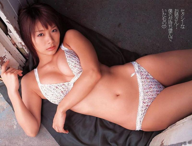【堀田ゆい夏グラビア画像】Fカップ巨乳に大きなお尻がエロいスタイル抜群ギャル! 66